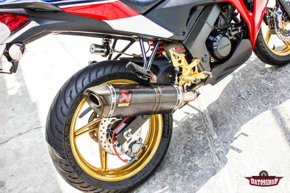 Honda cbr150 độ đầy phong cách của biker việt - 10