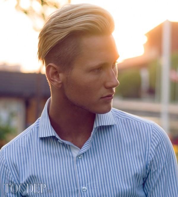 Tổng hợp 13 kiểu tóc nam undercut vuốt ngược đẹp xu hướng hot nhất hè 2017 - 6