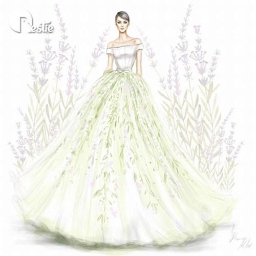 Những chiếc váy cưới các cô gái sẽ ao ước diện một lần trong đời - 6