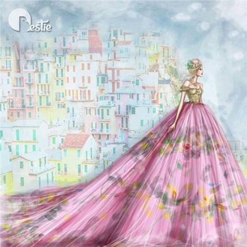 Những chiếc váy cưới các cô gái sẽ ao ước diện một lần trong đời - 7