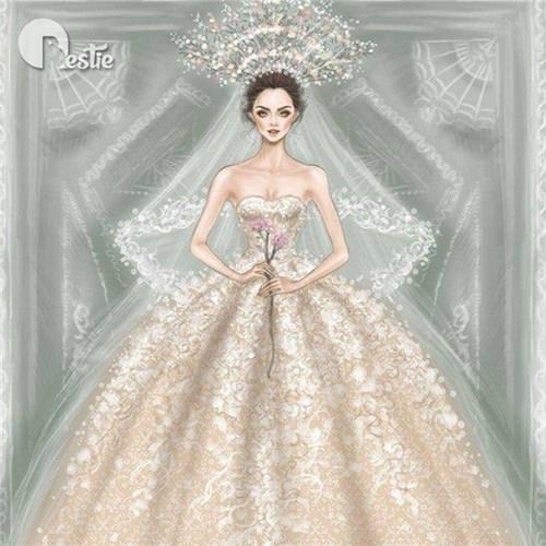 Những chiếc váy cưới các cô gái sẽ ao ước diện một lần trong đời - 8