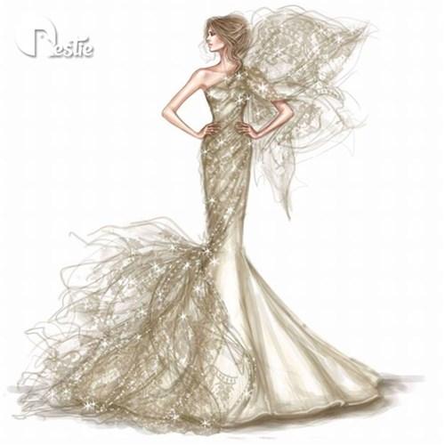 Những chiếc váy cưới các cô gái sẽ ao ước diện một lần trong đời - 11