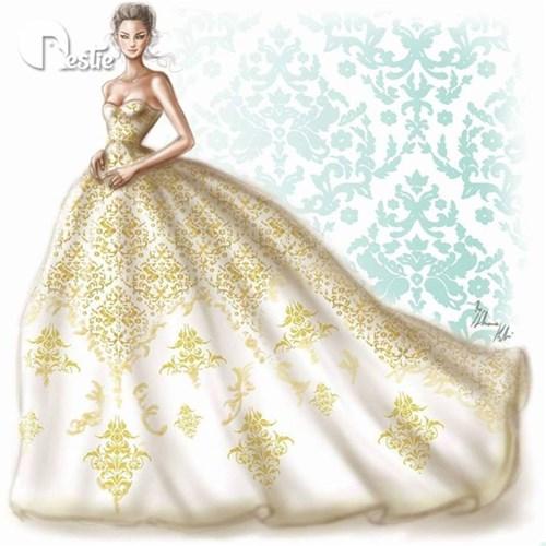 Những chiếc váy cưới các cô gái sẽ ao ước diện một lần trong đời - 14