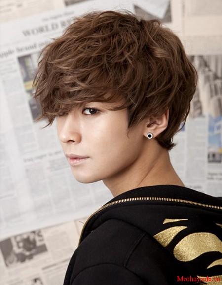 Những kiểu tóc nam ngắn đẹp 2016 sao kpop hàn quốc - 3