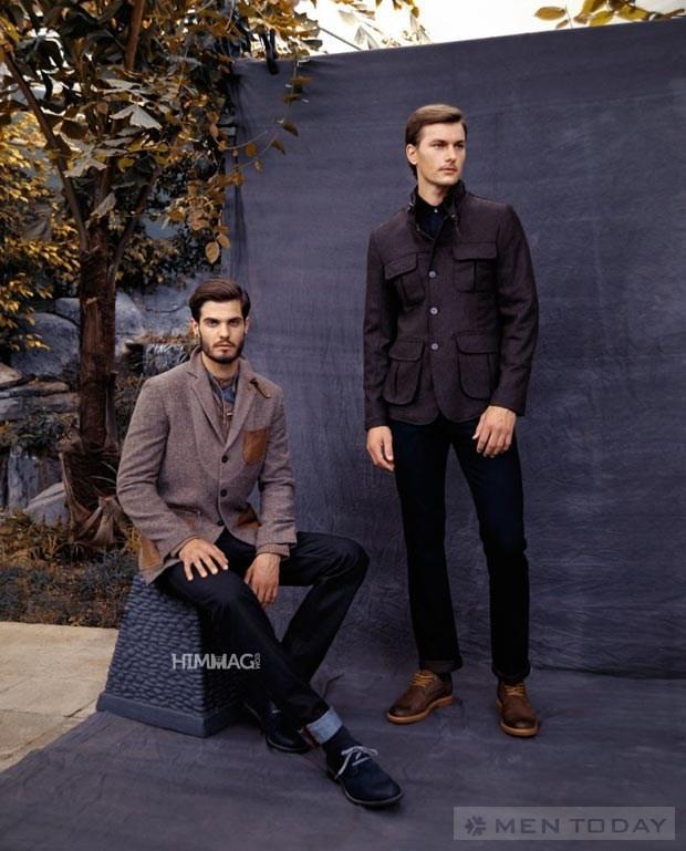 Những mẫu áo khoác nam cực đẹp cho mùa Đông