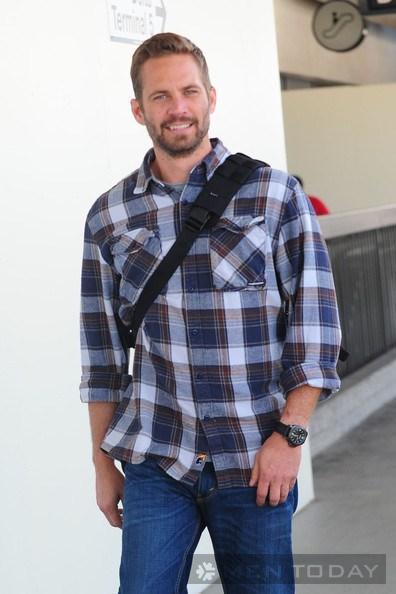 Phong cách thời trang đơn giản và nam tính của paul walker - 20