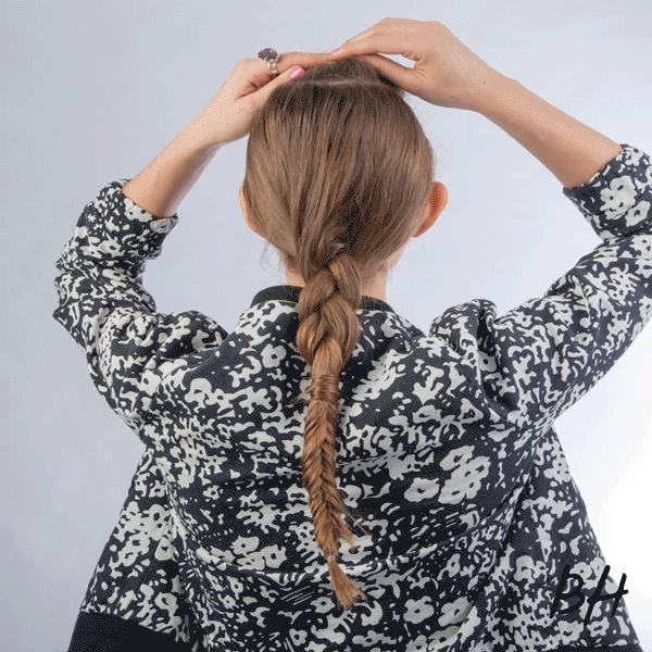 3 cách tết mái tóc phồng tự nhiện đẹp cô nàng tóc mỏng hè 2017 - 11