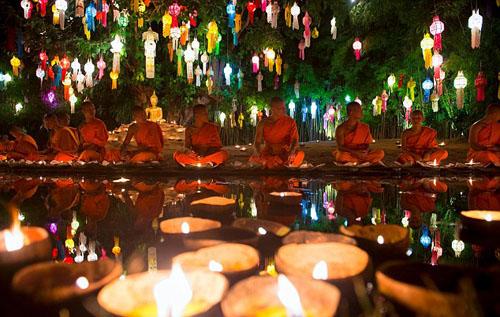 Thái lan hủy 150 chuyến bay để tránh lễ hội đèn lồng - 2