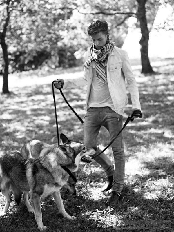 Xu hướng thời trang nam xuân hè 2013 từ bst balmain homme - 5
