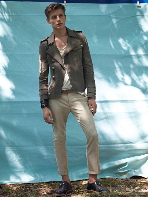 Xu hướng thời trang nam xuân hè 2013 từ bst balmain homme - 8