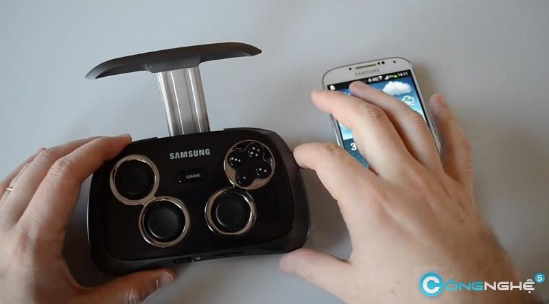 ces 2014 samsung cho ra mắt gamepad cho android - 1