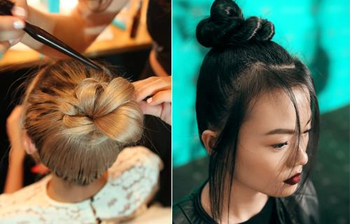Kiểu tóc búi tự nhiên trong show diễn của đỗ mạnh cường - 6