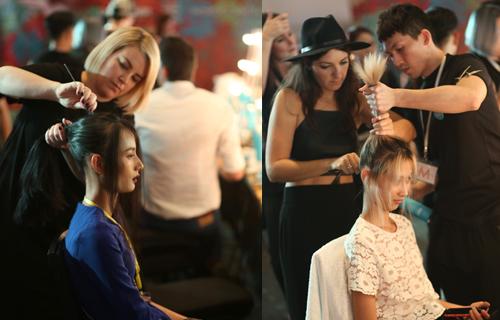 Kiểu tóc búi tự nhiên trong show diễn của đỗ mạnh cường - 7