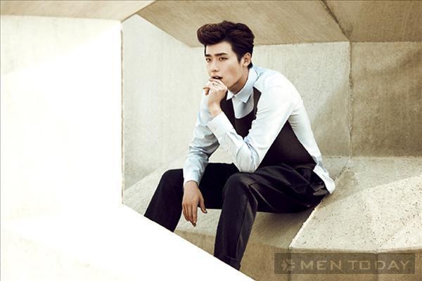 Lee jong suk đa phong cách trên các tạp chí tháng 10 - 1