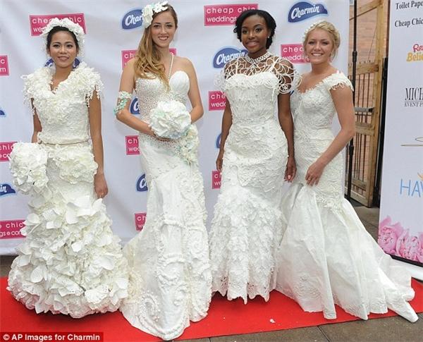 Ngạc nhiên tột độ khi biết những bộ váy cưới lộng lẫy được làm từ đâu - 3