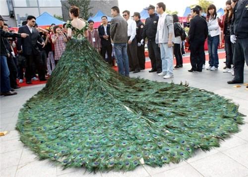 Những chiếc váy cưới điên rồ ai cũng lắc đầu ngán ngẩm - 11