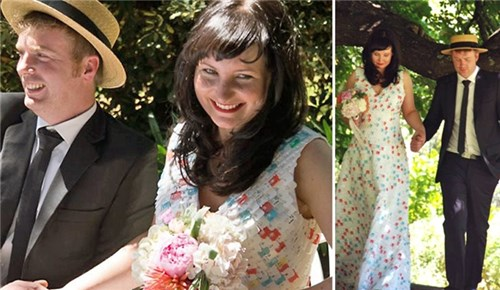 Những chiếc váy cưới điên rồ ai cũng lắc đầu ngán ngẩm - 14
