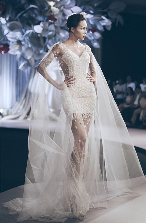 Những chiếc váy cưới khiến các cô gái muốn theo chàng về dinh - 3