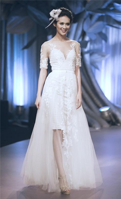 Những chiếc váy cưới khiến các cô gái muốn theo chàng về dinh - 9