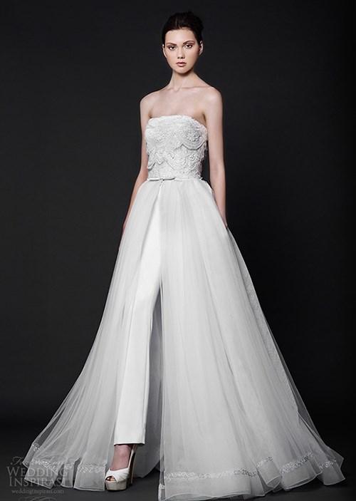 Những mẫu váy cưới đẹp đến ngạt thở khiến mọi cô gái phải ao ước - 22