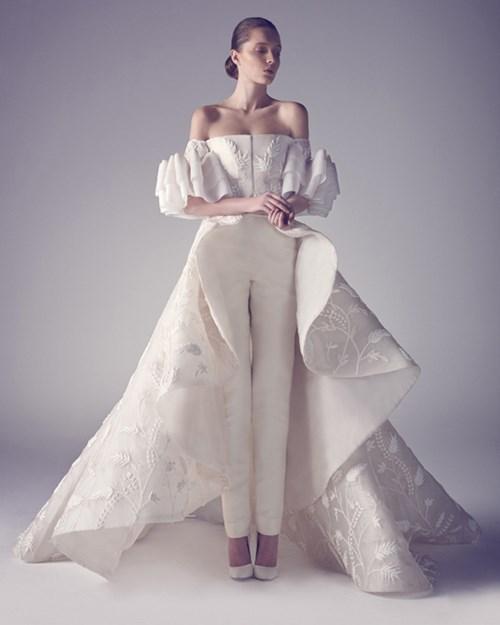 Những mẫu váy cưới đẹp đến ngạt thở khiến mọi cô gái phải ao ước - 24