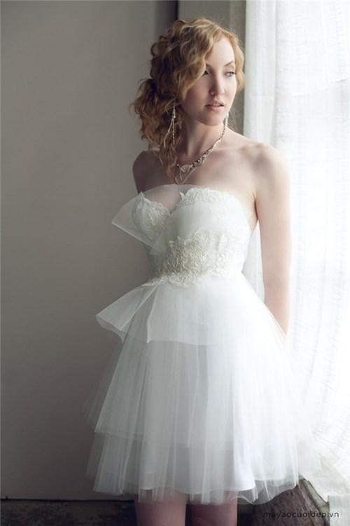 Những mẫu váy cưới đẹp đến ngạt thở khiến mọi cô gái phải ao ước - 39