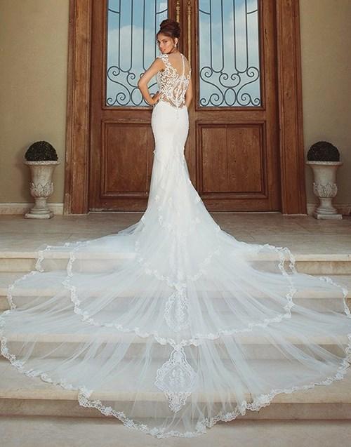 Những mẫu váy cưới đẹp đến ngạt thở khiến mọi cô gái phải ao ước - 42
