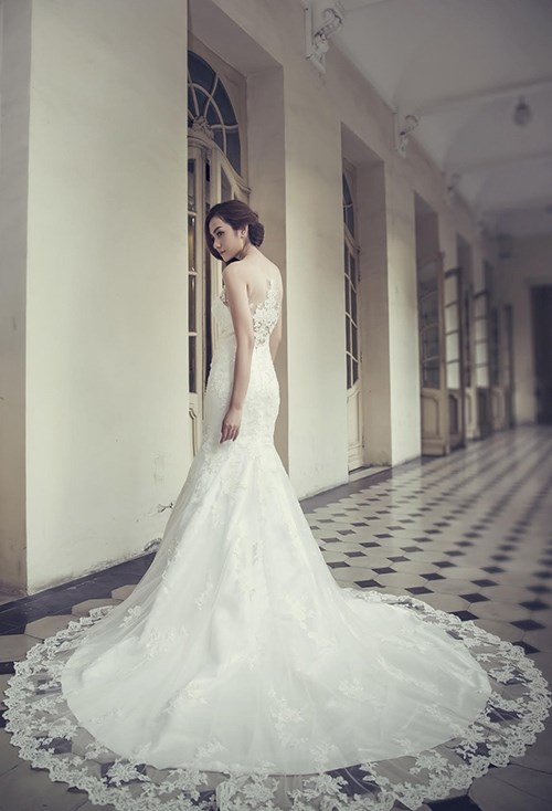 Những mẫu váy cưới đẹp đến ngạt thở khiến mọi cô gái phải ao ước - 47