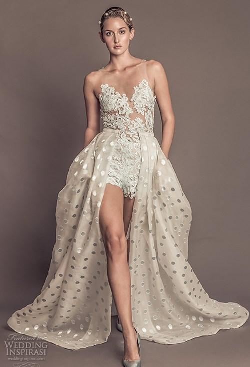 Những mẫu váy cưới đẹp đến ngạt thở khiến mọi cô gái phải ao ước - 49