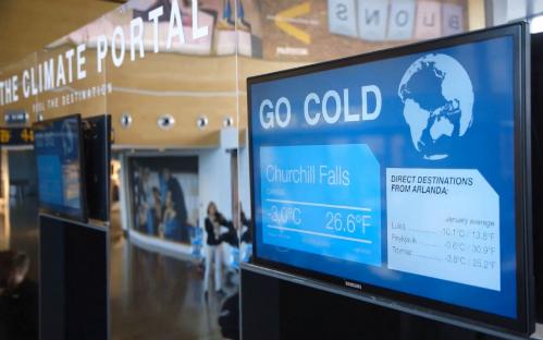 Stockholm trang bị cổng thời tiết ở sân bay - 1