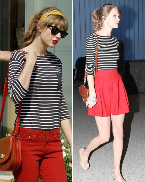 Taylor swift chia sẻ 6 bí quyết mặc đẹp - 7