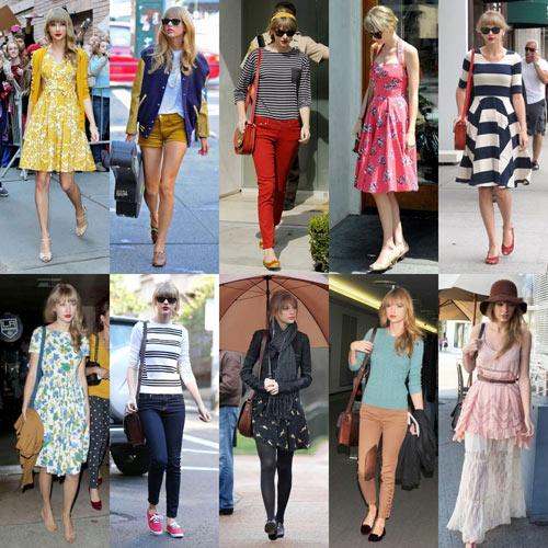 Taylor swift chia sẻ 6 bí quyết mặc đẹp - 10