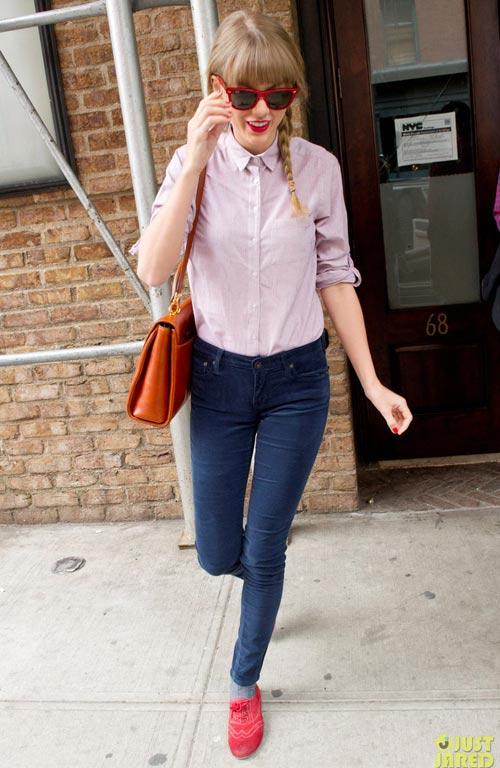 Taylor swift chia sẻ 6 bí quyết mặc đẹp - 13