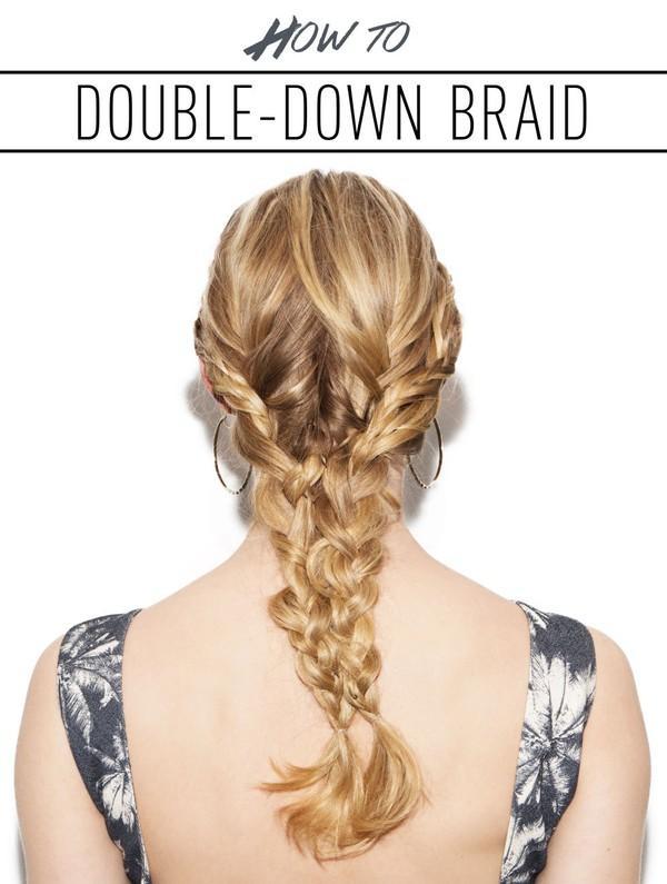 3 cách tết mái tóc phồng tự nhiện đẹp cô nàng tóc mỏng hè 2017 - 1