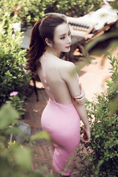 Angela phương trinh sexy khó cưỡng với váy xuyên thấu - 4