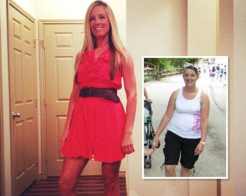 Bà mẹ trẻ giảm gần 50kg dothay đổi lối sống - 1