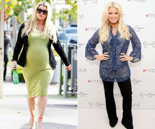 Bí quyết giảm cân ngoạn mục của 8 bà mẹ hollywood - 7