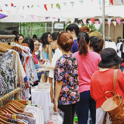 Chợ thời trang bổ - rẻ - văn minh của giới trẻ sài gòn - 2