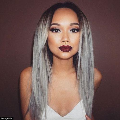 Dưới 30 tuổi bạn có dám nhuộm tóc bạc - 5
