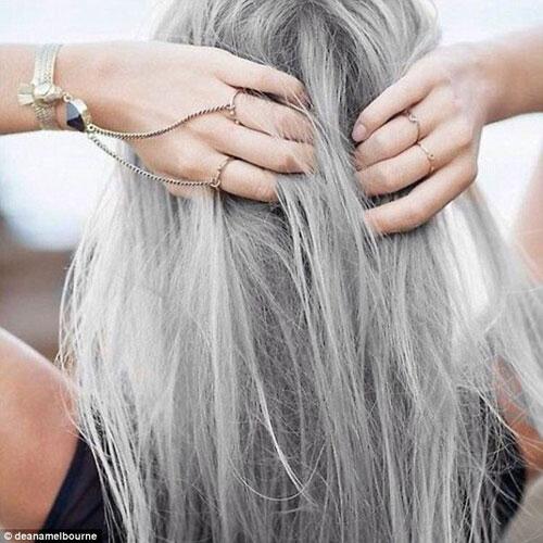 Dưới 30 tuổi bạn có dám nhuộm tóc bạc - 6
