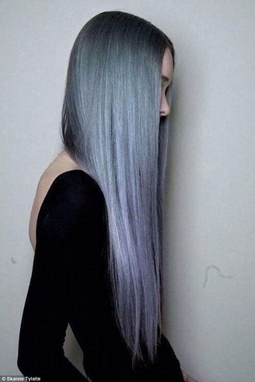 Dưới 30 tuổi bạn có dám nhuộm tóc bạc - 8