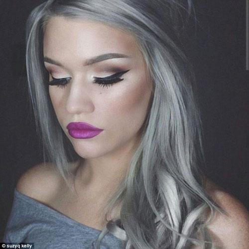 Dưới 30 tuổi bạn có dám nhuộm tóc bạc - 9