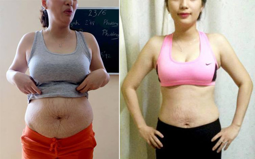 Những người giảm cân ngoạn mục bằng phương pháp fat attack - 2