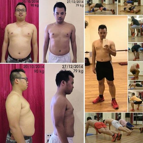 Những người giảm cân ngoạn mục bằng phương pháp fat attack - 9