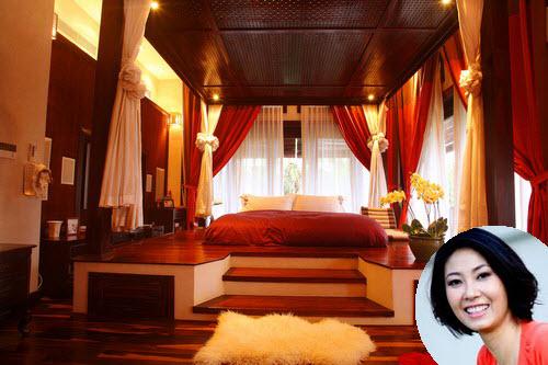 Phòng ngủ hoàng gia cổ điển đắt giá của sao nữ - 7