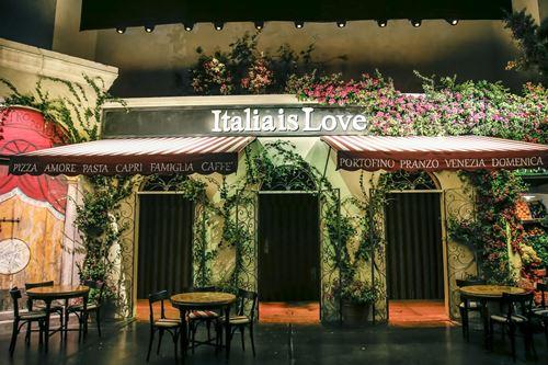 Tình yêu nước ý nồng cháy trong bst dolce - 1