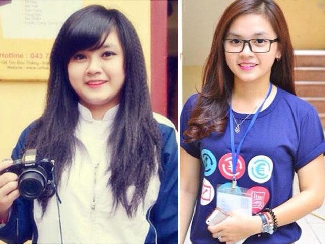 Bí quyết của nữ sinh trường báo giảm gần 30 kg trong 2 tháng - 1