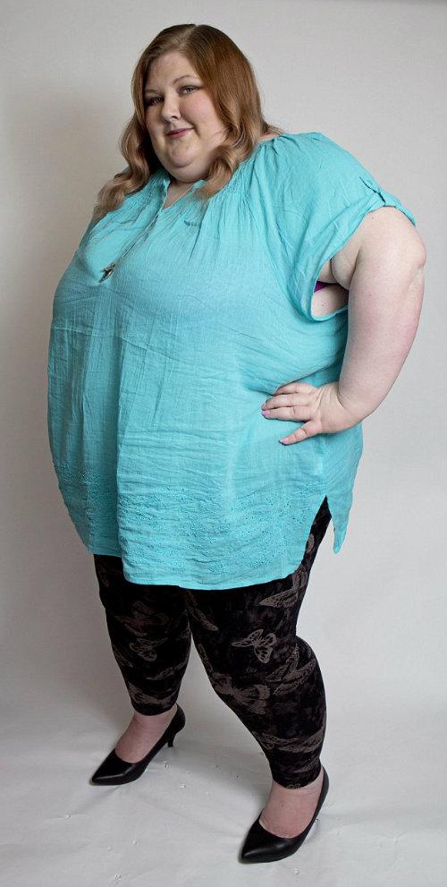Hành trình cân nặng bất thường của cô gái béo phì - 1