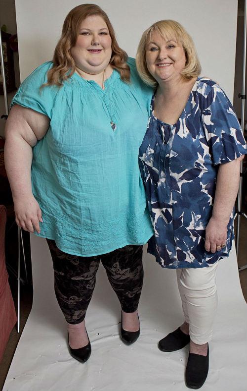 Hành trình cân nặng bất thường của cô gái béo phì - 13