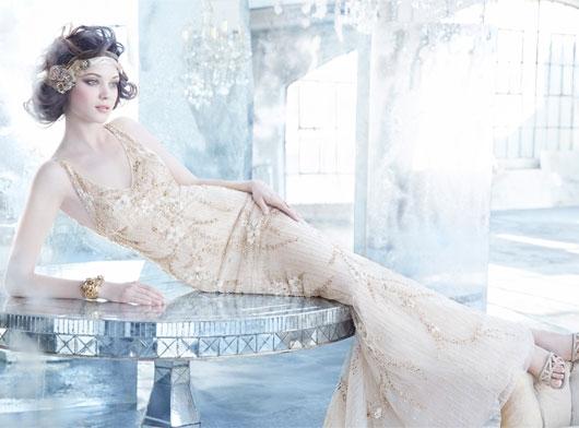Lóa mắt trước cái đẹp khó cưỡng của những chiếc váy cưới xa hoa - 1